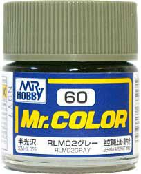 GNZ-C60: C60 Semi Gloss RLM02 Gray 10ml