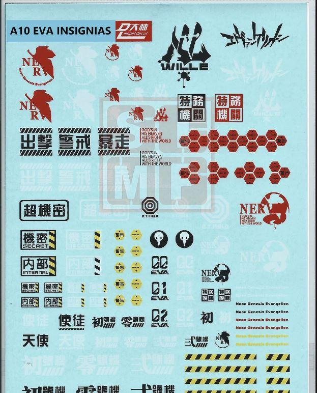 A10 General Design Water Decal EVA