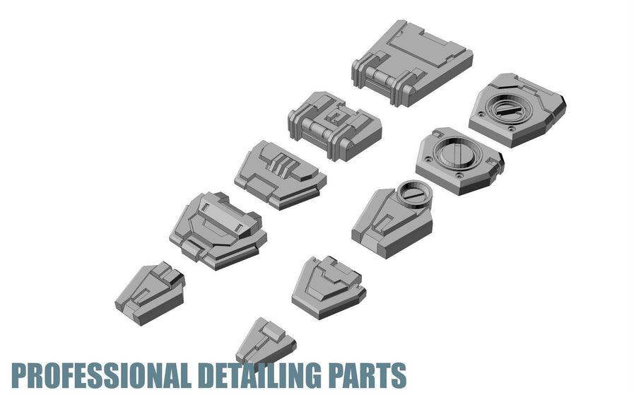 Apex Detailing Parts DP-H008 Panels