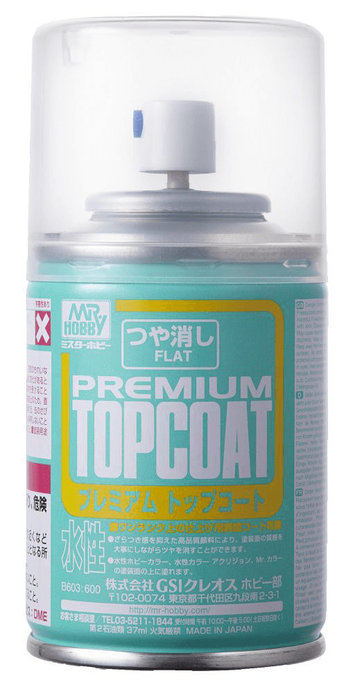 B603 Mr Premium Top Coat Flat