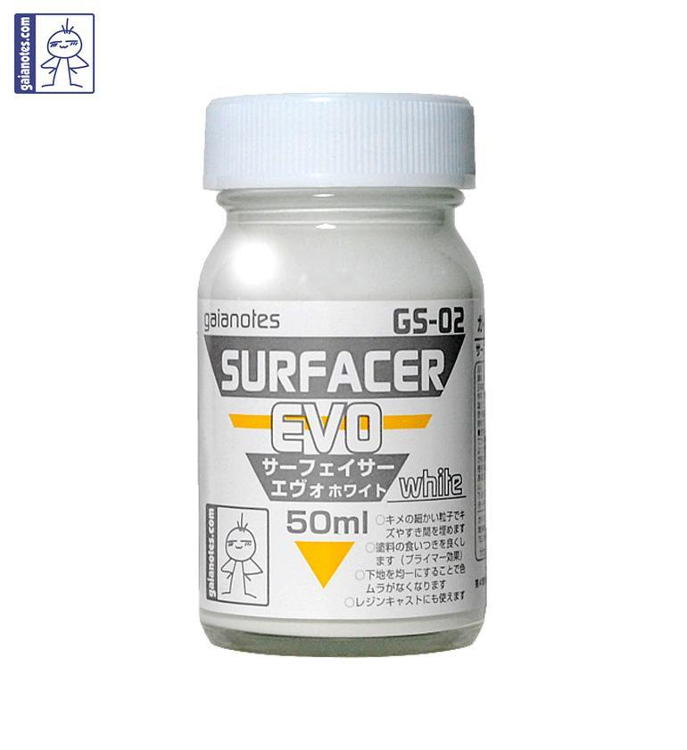 GAIANOTES GS-02 SURFACER EVO WHITE