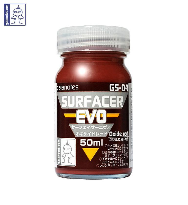 GAIANOTES GS-04 SURFACER EVO OXIDE RED