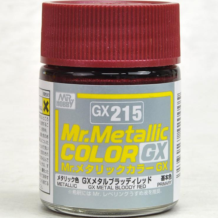 GX215 Mr.Metallic Color GX Metal Bloody Red