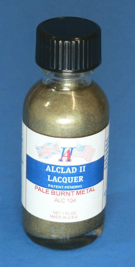 Alclad II 1oz. Bottle Pale Burnt Metal Lacquer