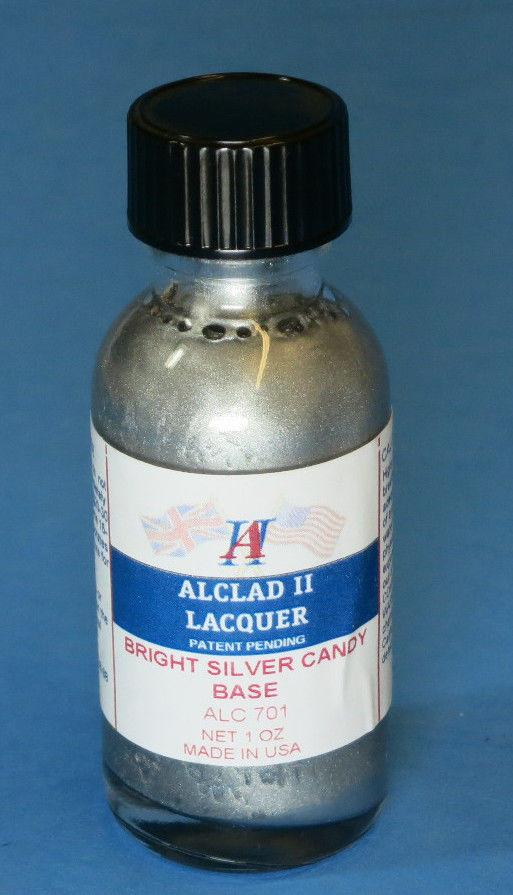 ALC-701	1oz. Bottle Candy Bright Silver Base Enamel