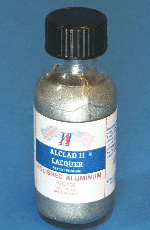 Alclad II 1oz. Bottle Polished Aluminum Lacquer