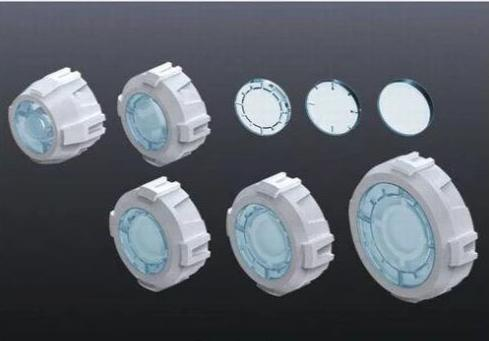 Bandai BUILDERS PARTS HD MS SIGHT LENS 01 ( Clear )