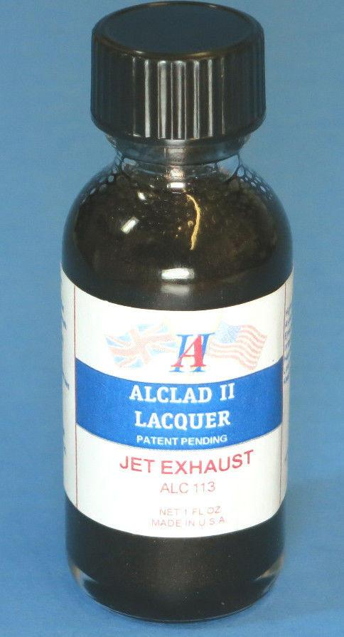 Alclad II 1oz. Bottle Jet Exhaust Lacquer