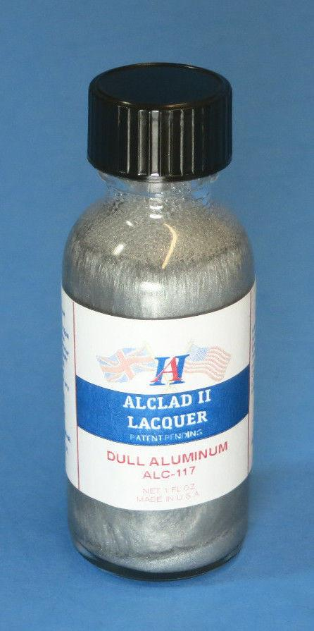 Alclad II 1oz. Bottle Dull Aluminum Lacquer