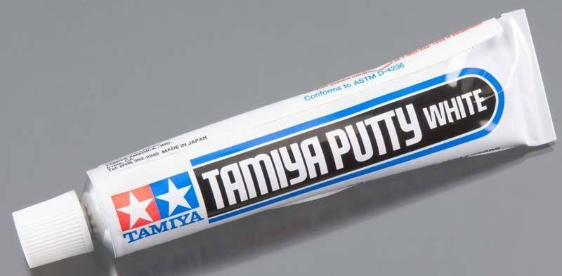 Tamiya White Putty (32g Tube)