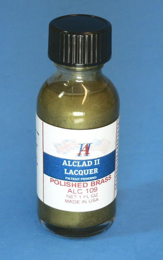 Alclad II 1oz. Bottle Polished Brass Lacquer