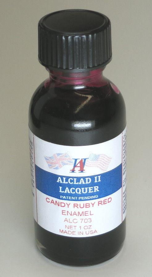 ALC-703	1oz. Bottle Candy Ruby Red Enamel
