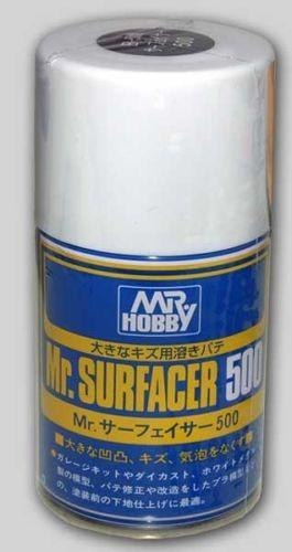 Mr. HOBBY SURFACER 500 - Gunze 100ml Aerosol Spray #B506 NEW