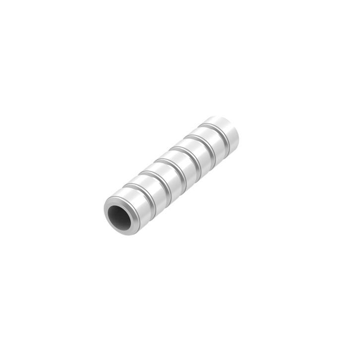 MZ pipe Silver 2.5mm (20 pcs)