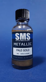 METALLIC PALE GOLD 30ML