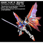 Rg destiny wings of light 1/144