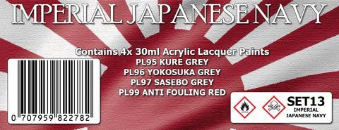 IMPERIAL JAPANESE NAVY COLOUR SET