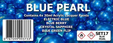 BLUE PEARL COLOUR SET
