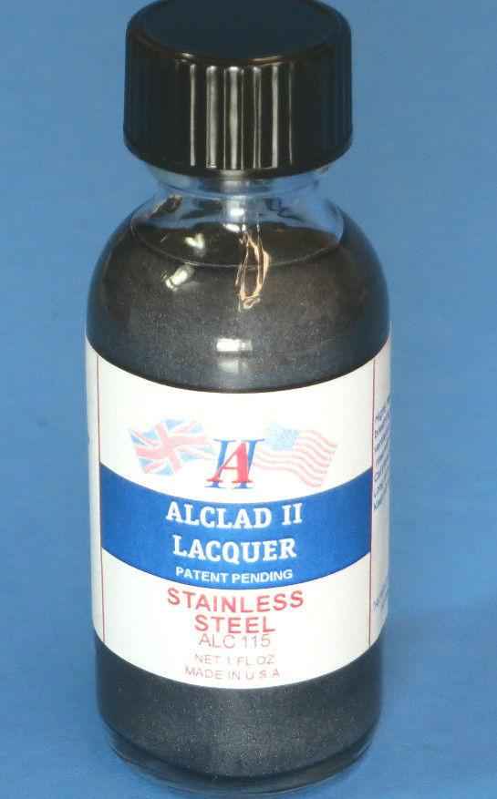 Alclad II 1oz. Bottle Stainless Steel Lacquer