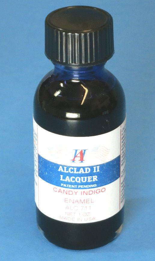 ALC-711	1oz. Bottle Candy Indigo Enamel