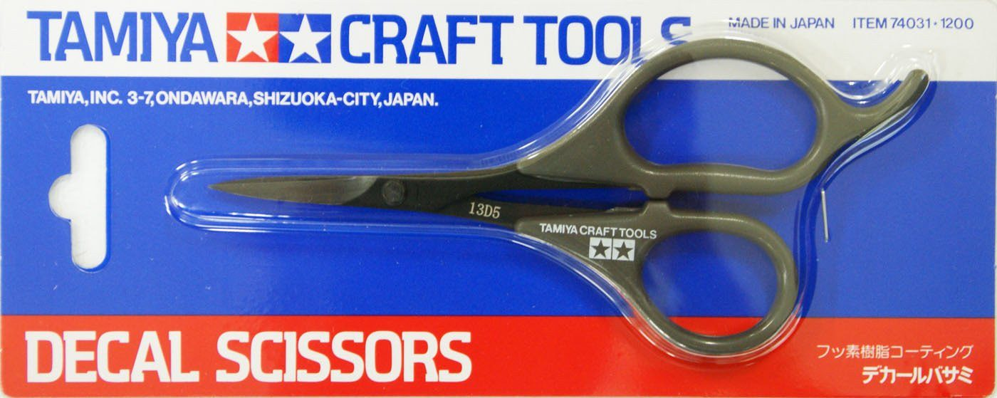 Tamiya 74031 Craft Tools - Decal Scissors