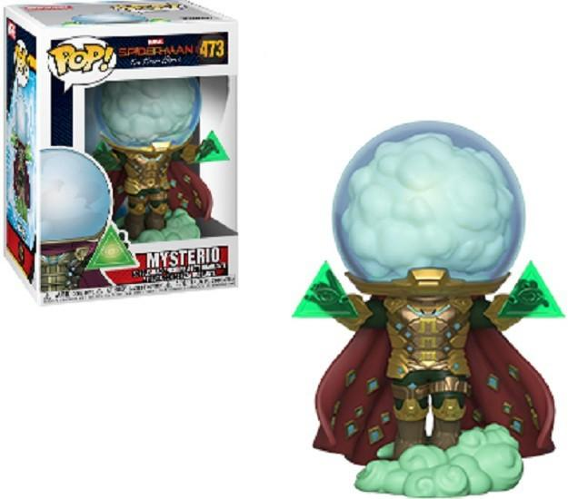Spider-Man Far From Home Funko POP! Marvel Mysterio Vinyl Figure #473 W/ POP Protector