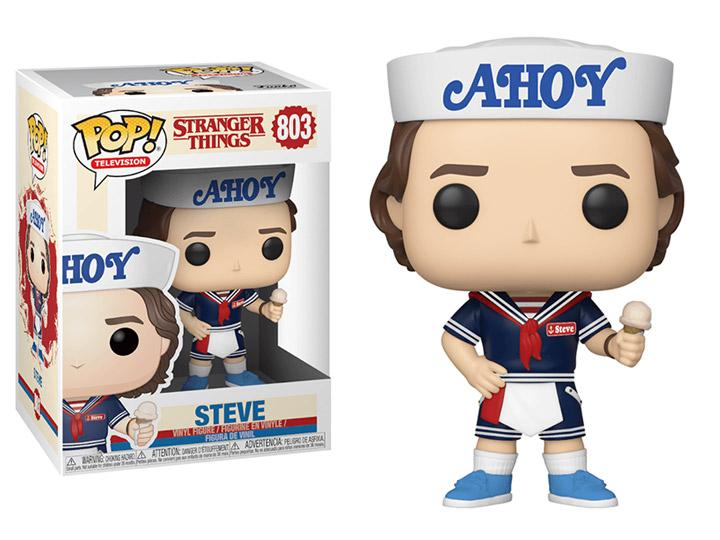 Pop! TV: Stranger Things - Steve with Hat & Ice Cream W/ Pop Protector