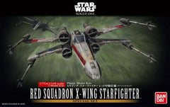 Bandai 1/72 & 1/144 Red Squadron X-Wing Starfighter Special Set Rouge One