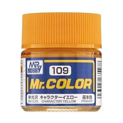 GNZ-C109: C109 Semi Gloss Character Yellow 10ml