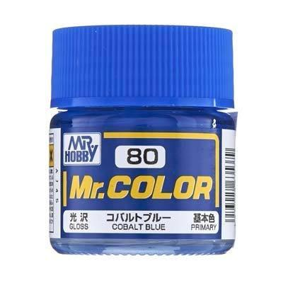 GNZ-C80: C80 Semi Gloss Cobalt Blue 10ml