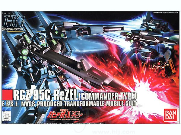 HGUC 1/144 #108 ReZel (Commander Type)