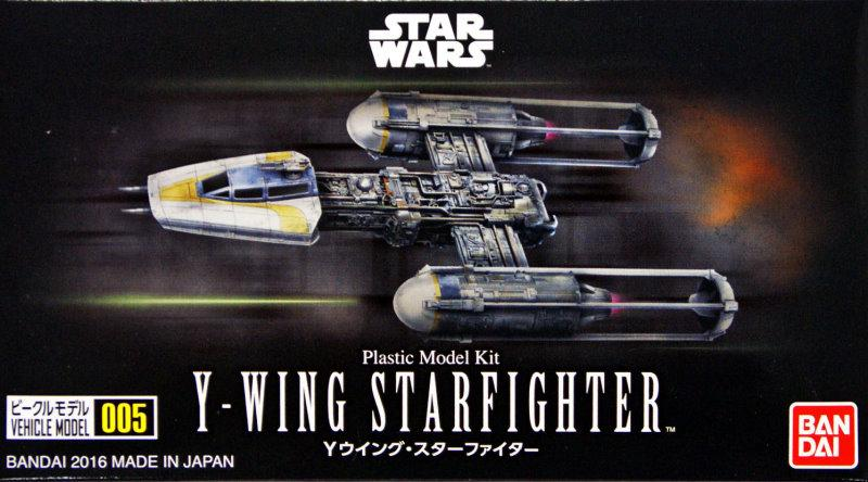 VEHICLE MODEL 005 Y-WING STARFIGHTER 1/144 scale