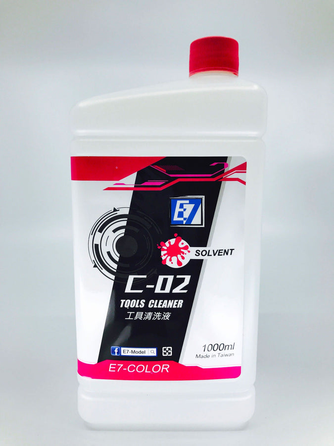 C-02 Tools Cleaning Solvent 1000ml