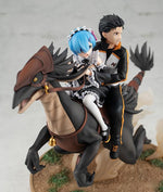 Re:Zero Starting Life in Another World Rem & Subaru (Attack on the White Whale) Figure