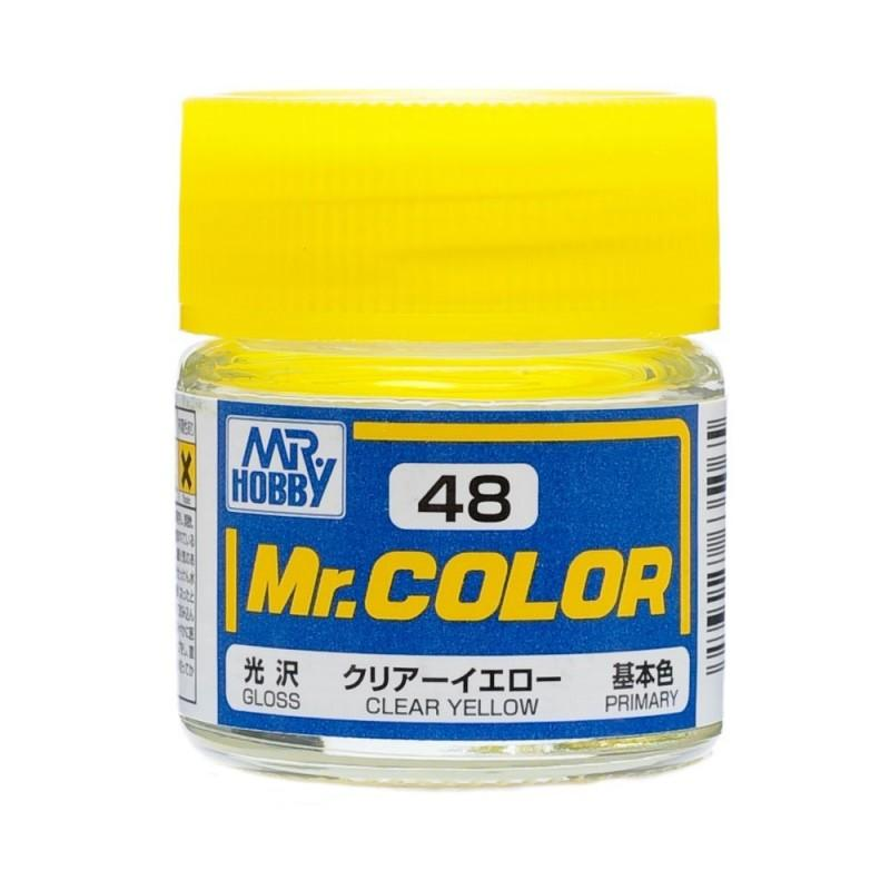 GNZ-C48: C48 Gloss Clear Yellow 10ml