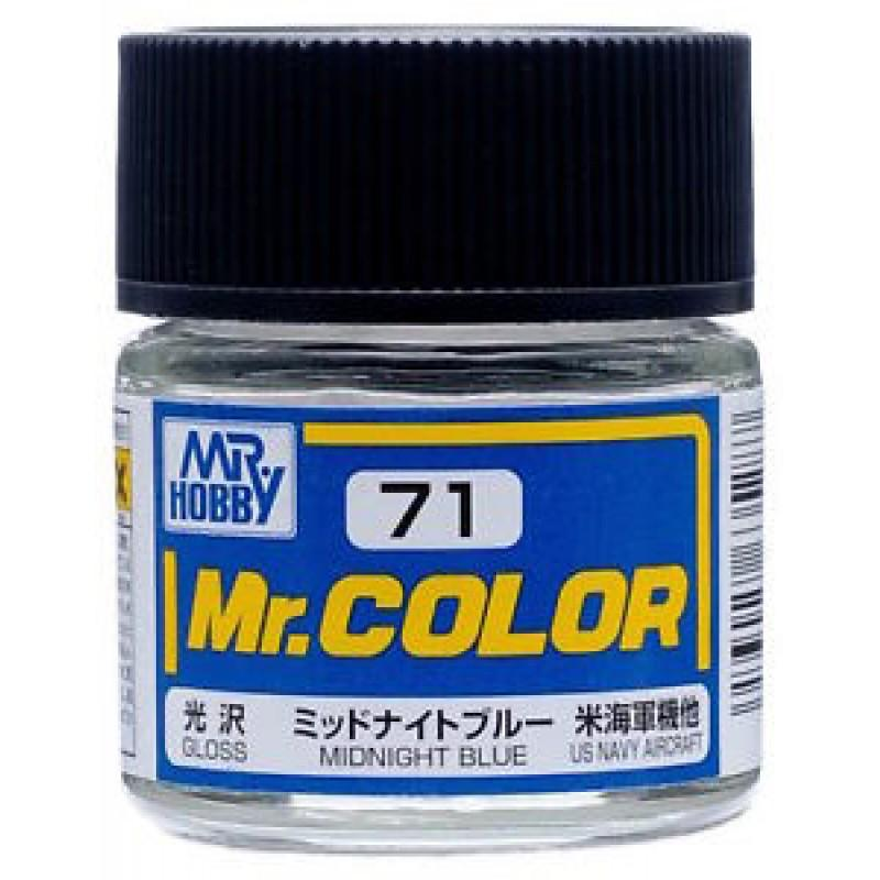 GNZ-C71: C71 Gloss Midnight Blue 10ml