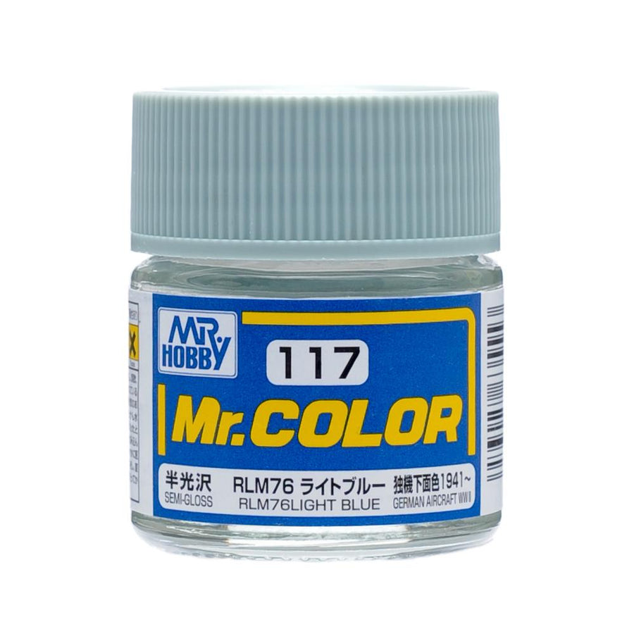 GNZ-C117: C117 Semi Gloss RLM76 Light Blue 10ml