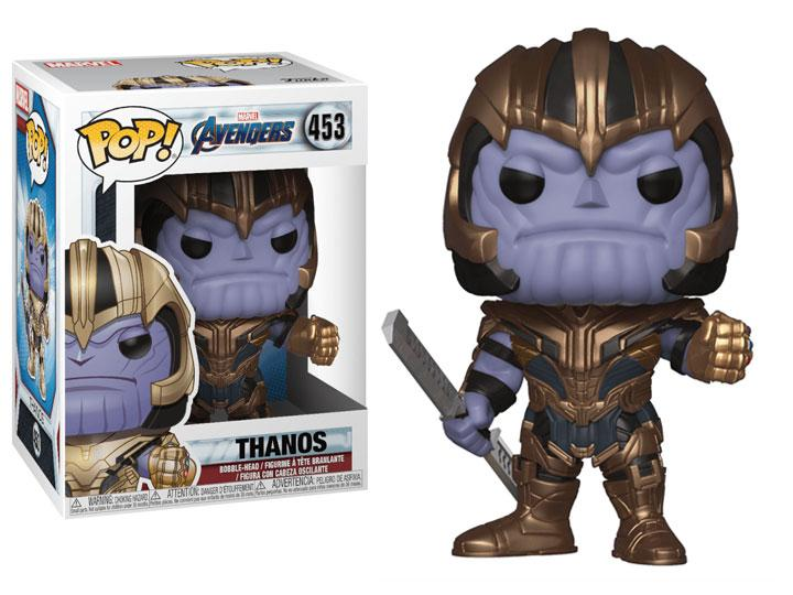 Pop! Marvel: Avengers: Endgame - Thanos W/ Pop Protector