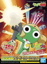 KERORO GUNSO PLAMO KERORO GUNSO ANNIVERSARY PACKAGE EDITION