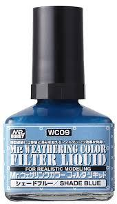 MR. WEATHERING COLOR - SHADE BLUE