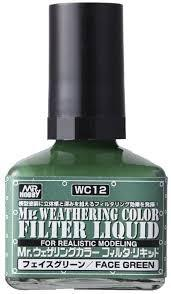 MR. WEATHERING COLOR - FACE GREEN