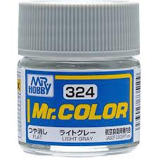 GNZ-C324: C324 Flat Light Gray 10ml