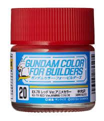 Gundam Color (10ml) RX-78 Red UG20