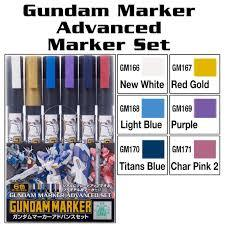 Gundam Marker Set - Gundam Marker Advanced Set