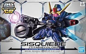 SD GUNDAM CROSS SILHOUETTE SISQUIEDE (TITANS COLORS)