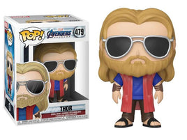 Pop! Marvel: Avengers: Endgame - Thor (Casual) W/ Pop Protector