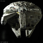 "Millennium Falcon ""Star Wars: The Last Jedi"", Bandai Star Wars 1/144 Plastic Model"