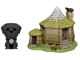 Pop! Town: Harry Potter Hagrid's Hut With Fang W/ Pop Protector
