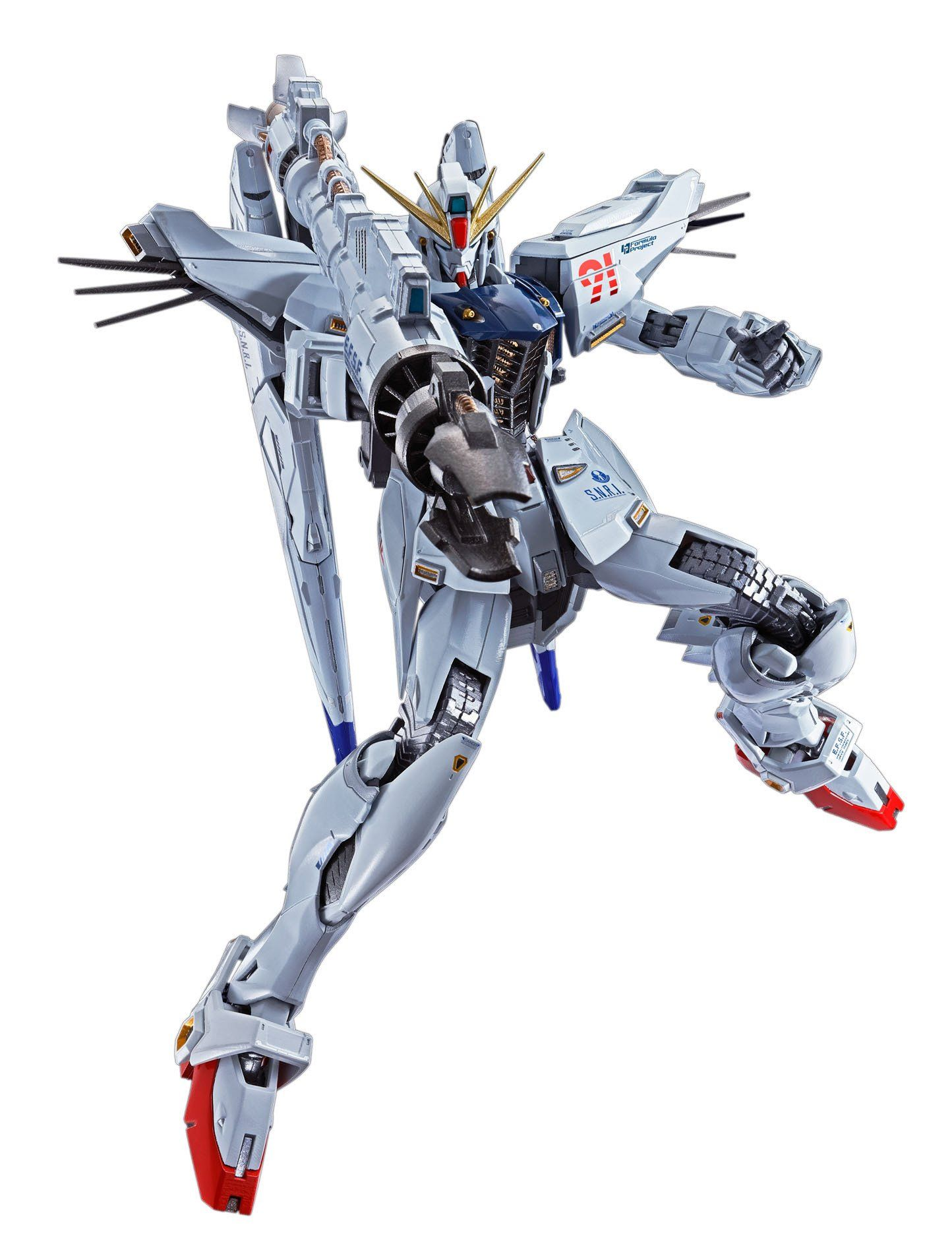 "Pre-Order Gundam F91 ""Mobile Suit Gundam F91"", Bandai Metal Build"