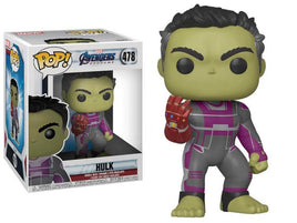 "Pop! Marvel: Avengers: Endgame - 6"" Super Sized Hulk W/ Pop Protector"
